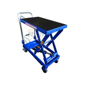 Scissor Lift Trolley 450kg HD Folding Handle