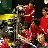 Polycarbonate performs in FIRST Robotics Competition
