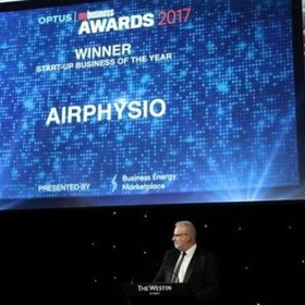 AirPhysio Winner of Optus MyBusiness Start-up Business of the Year Award