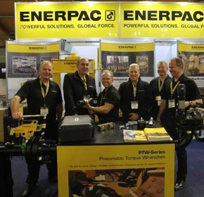 Enerpac talks the torque at AIMEX 2017
