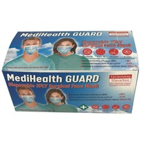 MediHealth Surgical Face Mask Level 3 TGA Registered 3ply, 50pcs/box