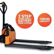 Logimove 1200 Powered Pallet Truck – Lithium Ion