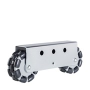 125mm Rotacaster | 2 x RC Multi Mount | Omni-Wheel Multi-Directional