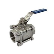Stainless Steel Three Piece BSP Ball Valves