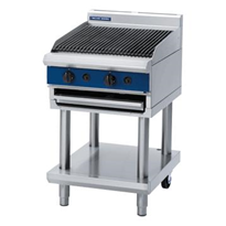 600mm Gas Chargrill Leg Stand | Blue Seal Evolution Series G594-LS