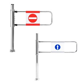 Manual Supermarket Gates for Pedestrian Access Control | Rotech