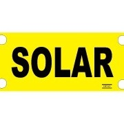 Solar Label for Solar Conduit | 420030-10p
