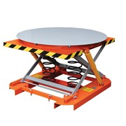 Spring Loaded Rotating Pallet Tables | MHA