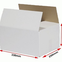 White Plain Shipping Boxes | 102011