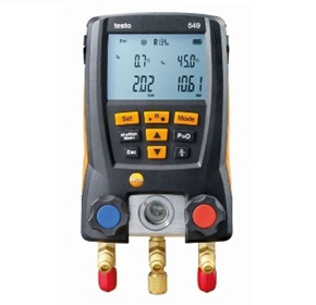 Basic Low Cost Refrigeration Digital Gauge | testo 549
