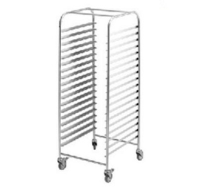 Mobile Gastronorm Rack Trolley | Simply Stainless SS16.1/1