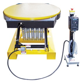 Electric Rotating Pallet Spring Table | E1465