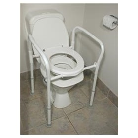 Folding Over Toilet Frame | AusCare