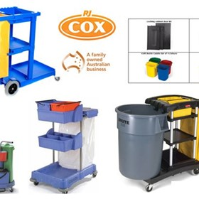 Janitor Carts & Trolleys | R.J. Cox