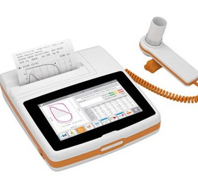 Spirolab 4 Portable Desktop Spirometer with Touch Screen & Printer