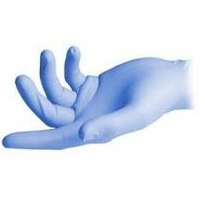 Nitrile Super Soft Blue Powder Free Gloves | bastion