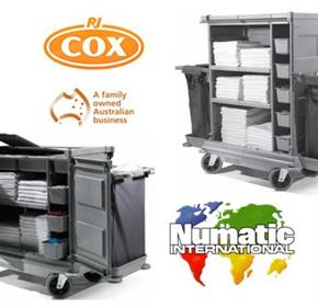 Housekeeping Trolleys | Numatic VersaCare Systems
