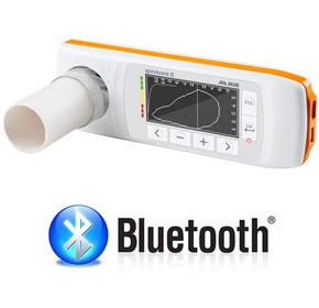 Spirometer USB & Bluetooth with 10 Disposable Turbines | MIR911020D10