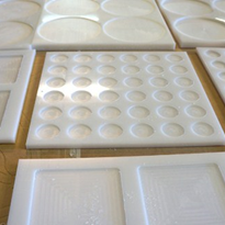 Machined HDPE Food Moulds | Allplastics