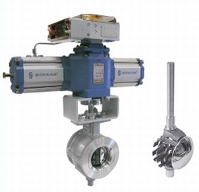 Segmented Ball Control Valves | Somas