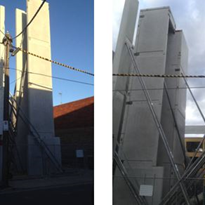 THERMOMASS 15m Panels in new Alvaro Project, Richmond