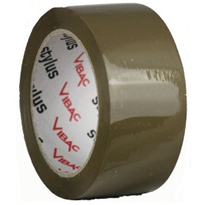 48mm x 75m Brown Packaging Tape | Vibac P30