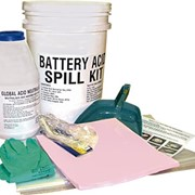 Spill Kits for Battery Acid Spills