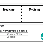 "Medical  Identification Label ""Medicine"""