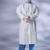 Disposable fully welded panels Isolation Gown - A 1st for Australia