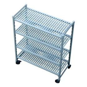 Mobile Shelving System | 4 Tier