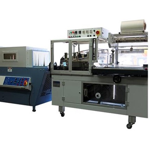 Wrapping Machines | Fully Automatic l-bar Sealer + Shrink Tunnel