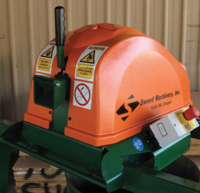 Plastic & Steel Strap Shredder | Sweed 300
