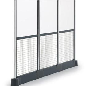 Railix Design - Wire & Glass Partition