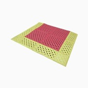 Non-Slip Safety Shower & Eyewash Mat | H-NSM