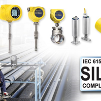 SIL Compliant Thermal Flow Meters & Switches