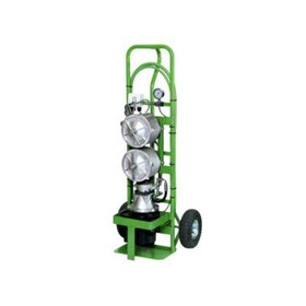 Stainless Steel 2 Pot Filtration Equipment Trolley