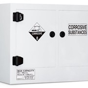 Poly Corrosive Storage Cabinet | 110 Litre Divided Sump - TSSCP110
