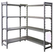 Adjustable Plastic Mat Shelving