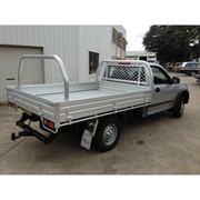 Heavy Duty Alloy UTE Tray - Single Cab | 2480L x 1855W