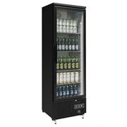 307L Upright Back Bar Cooler with Hinged Door