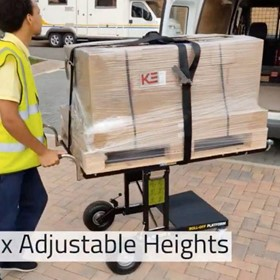 Demtruk Folding Cart DELUX 2.0 with 220 kg Capacity