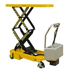 Electric Double Scissor Lift, 350 KG capacity - ETFD35