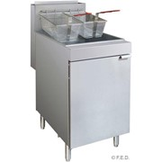 F.E.D Superfast LPG Tube Twin Vat Fryer | FryMax RC400TLPG-C