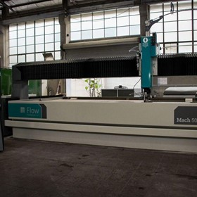 Waterjet Cutting Machine Mach 500