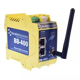 Industrial Edge Controller-Pwrd by Pi-DIO+Serial+BT/WiFi/NFC/Ethernet