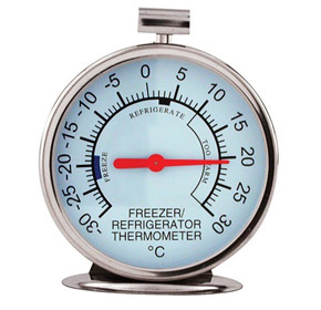 Fridge and Freezer Thermometer | 75mm Face