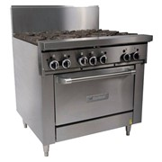 Garland 900mm Wide 6 Burner Gas Range - GF36-6R