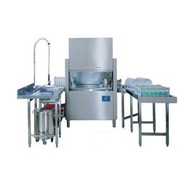 Conveyor Dishwasher | Single Tank Rack EW-3512