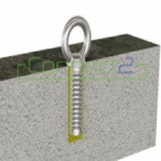 Connect2 Concrete Fix Anchor (with Removable Eyebolt & Stainless Cap)