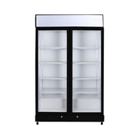 Bromic Flat Glass Door LED Upright Display Eco Chillers - GM1000LB